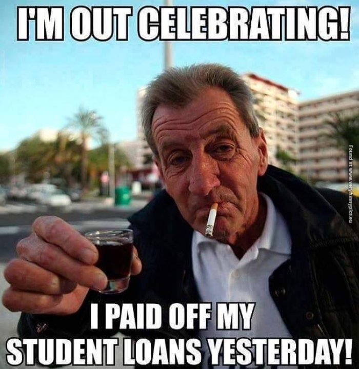 paid off student loans meme?w=292&h=300 financial planning for millennials not your father's financial advisor